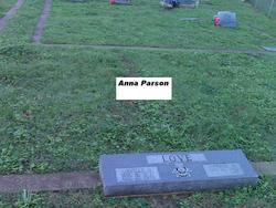 Ina Anna Louise <i>Booker</i> Parsons