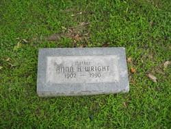 Anna H Wright