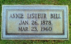 Annie Laura <i>LeSueur</i> Bell