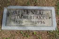 Alma B. <i>Neal</i> Timberlake