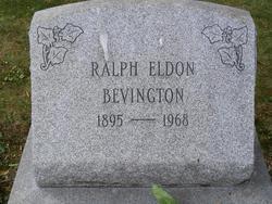 Ralph Eldon Bevington