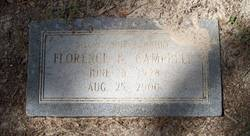 Florence <i>Bosarge</i> Campbell