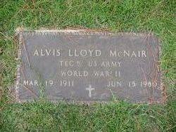 Alvis Lloyd McNair