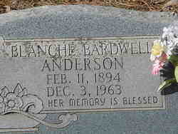 Blanche <i>Bardwell</i> Anderson