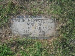 Julie <i>Huffstetler</i> Friday