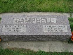 Phereba Ann <i>Davis</i> Campbell