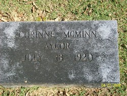 Corrine <i>McMinn</i> Aylor
