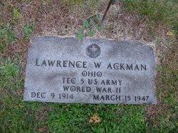 Lawrence W. Ackman