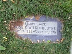 Rose F. <i>Wilkin</i> Boothe