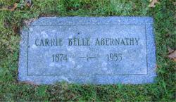 Carrie Belle <i>Fleshood</i> Abernathy