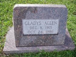 Gladys Allen