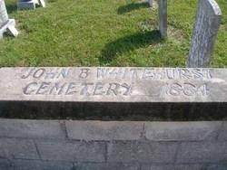 John B. Whitehurst Family Cemetery