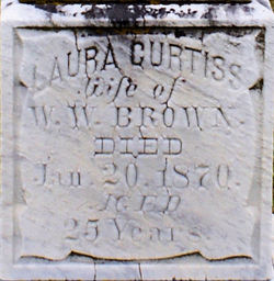 Laura L <i>Curtiss</i> Brown