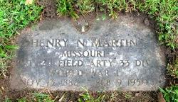 Pvt Henry N. MARTIN