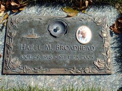 Hazel Mae <i>Thorsted</i> Broadhead