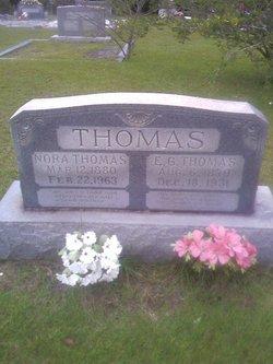 Nora Cordile <i>Glenn</i> Thomas