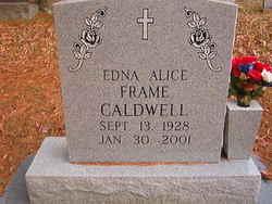 Edna Alice <i>Frame</i> Caldwell