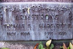 Margaret E. <i>Livingston</i> Armstrong