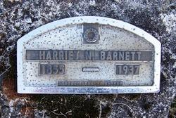 Harriet Ann <i>Kisner</i> Barnett