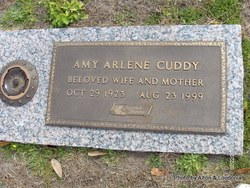 Arlene Amy <i>Dain</i> Cuddy