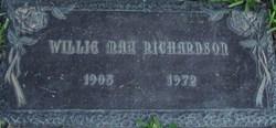 Willie May <i>Flanagan</i> Richardson