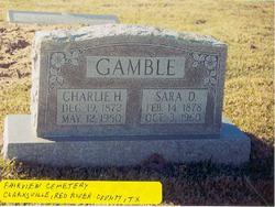 Sara F <i>Strain</i> Gamble