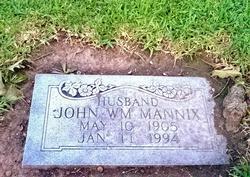 John William Mannix