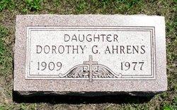 Dorothy G Ahrens