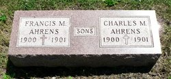 Charles M Ahrens