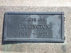 Gladys Ann Bullington