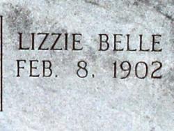 Lizzie Belle <i>Allen</i> Morris