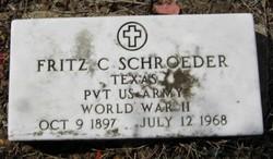Frederick (Fritz) C. Schroeder