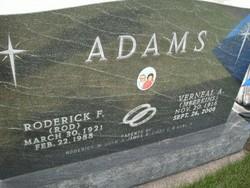 Roderick Francis Rod Adams