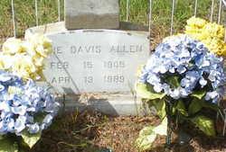Annie <i>Davis</i> Allen