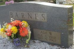 Ada W Barnes
