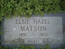 Elsie Hazel <i>Wohlfahrt</i> Matson