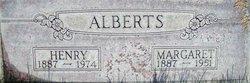 Margaret <i>Baumer</i> Alberts