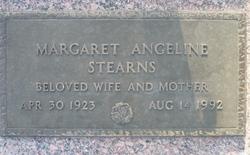 Margaret Angeline <i>Maynard</i> Stearns