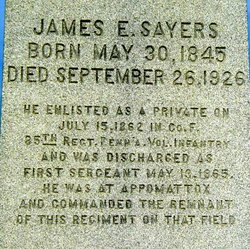 James Ezra Sayers