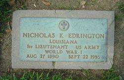 Nicholas K. Edrington