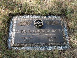 Alice C. <i>Lobdell</i> Bane