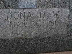 Donald W. Bangston