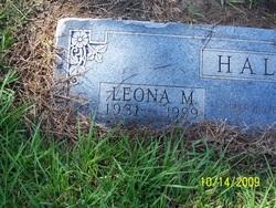 Leona Marie <i>Marshall</i> Hall
