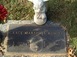 Grace <i>Marshall</i> Rumley
