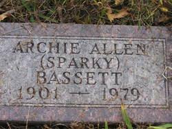 Archie Allen Sparky Bassett