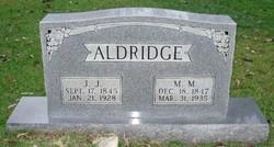 Malinda Mary <i>Spears</i> Aldridge