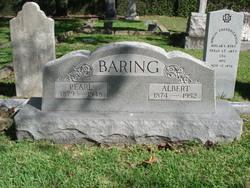 Albert StClair Baring