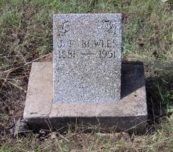Joseph Franklin Bowles