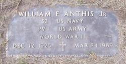 William Frank Bill Anthis, Jr