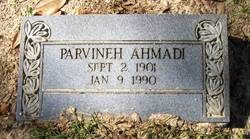 Parvineh Ahmadi